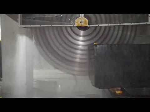 Automatic Multi 10 Blade Granite Marble Stone Block Cutting Slab Making Machine