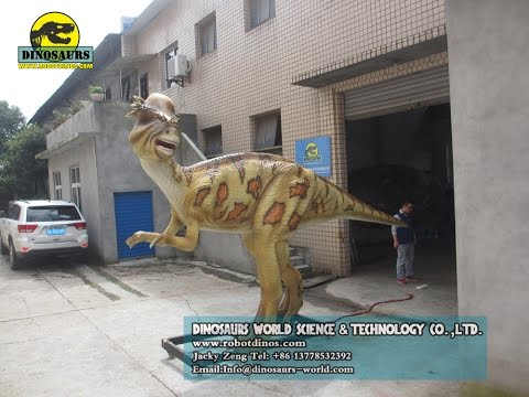 6 Units Animatronic Dinosaurs and Dinosaur Skeleton Model Finished In Factory