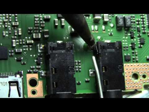 How to fix a bad headphone or mic jack - microphone plug repair