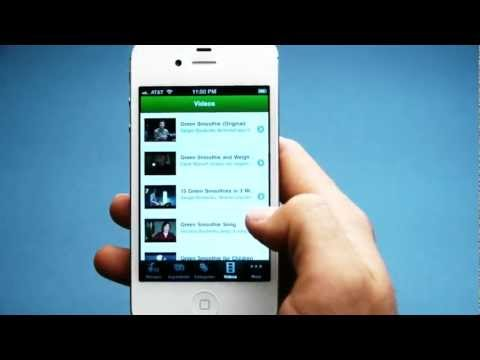 Green Smoothie App Commercial