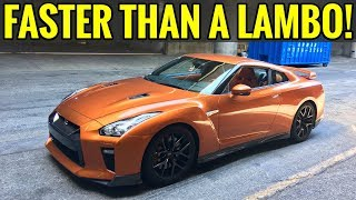 Here's why a GTR is better than a LAMBORGHINI!
