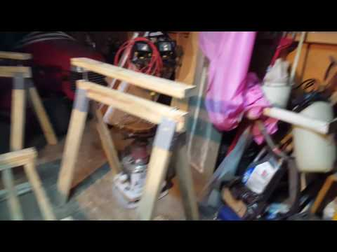 Homemade Adjustable Sawhorses Part 5 of 5