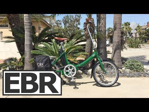 Blix Vika+ Video Review - $1.6k Quiet, Smooth, Elegant Folding Electric Bike, Three Colors