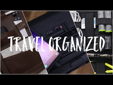 Best Travel Tech | Carry On, Bags & Must See Organizers