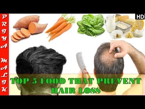 Top 5 Food That Prevent Hair Loss or Hair Fall - You Should Eat daily | Priya Malik
