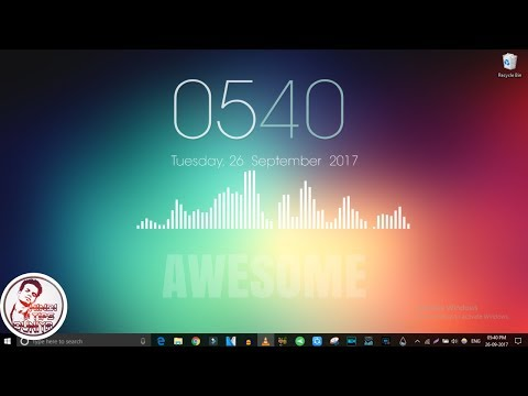 Make your Desktop look simple, cool & awesome   Hindi   2017