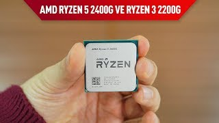 AMD, Ryzen işlemcilerine GPU ekledi Ryzen 5 2400G İncelemesi