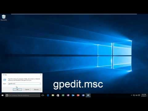 How To Open Local Group Policy Editor (gpedit msc) On Windows 10/8/7