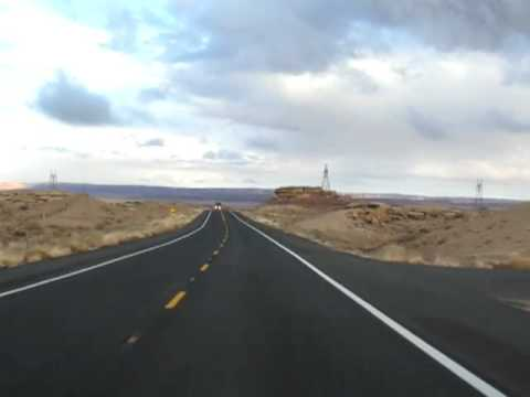 Driving Footage I-40 Arizona and Route 66 #005
