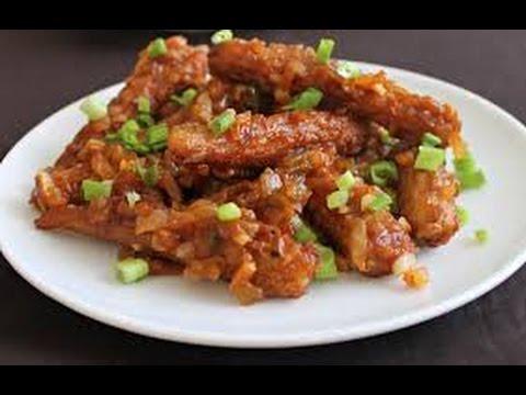 Babycorn Manchurian recipe***