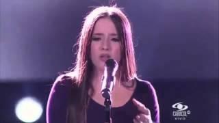 Evaluna Montaner y Andrés Parra - Si Existe/La Gloria de Dios - La Voz Colombia