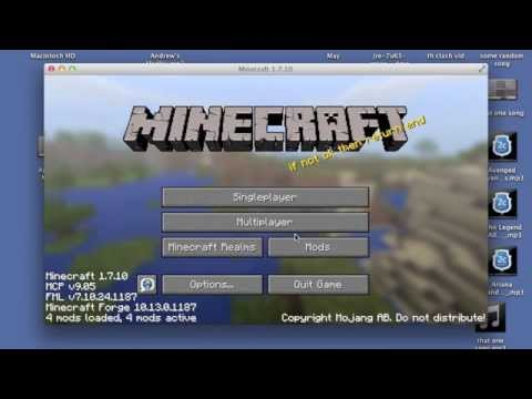 How to Download Pixelmon for Minecraft 1.7.10 (Mac)