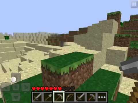 Steve Vs Minecraft PE - Iron Ingots