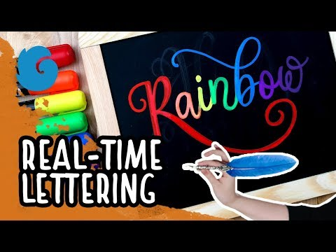 Real-Time Lettering: Rainbow