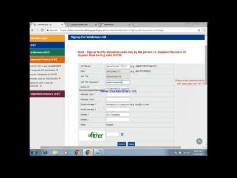 Accounting Tips - GST E WAY BILL 402 403 Registration Process Online [Hindi]