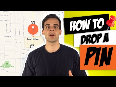 How to Drop a Pin or Share Your Location