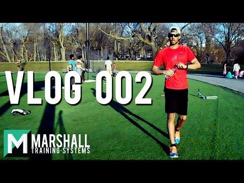 Track Workout, Boston Marathon! | Vlog 002 | Carlton Marshall II