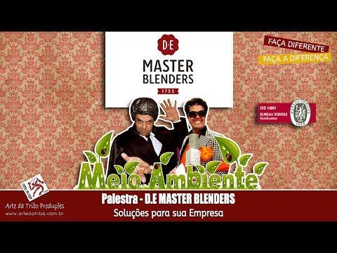 Arte da Tribo - Palestra Motivacional - D.E Master Blenders - Meio Ambiente - (11) 3222-5550