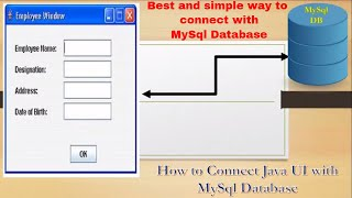 Lesson 34: How to insert date into DB, Java, netbeans, MySQL - The