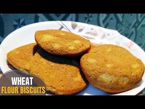 :: Wheat Flour Biscuits :: ::Atta Biscuits :: Biscuits Recipe :: Home made Biscuits By Latha Channel