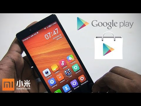 How to Install Google Play Store Services on Xiaomi Chinese Android Phones or Other (NO ROOT)
