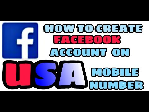 How To Create Facebook Account On USA Mobile Number (July 2017) 100% Working