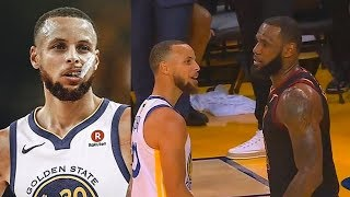 Stephen Curry Reveals What LeBron James Said To Him During Trash Talk!