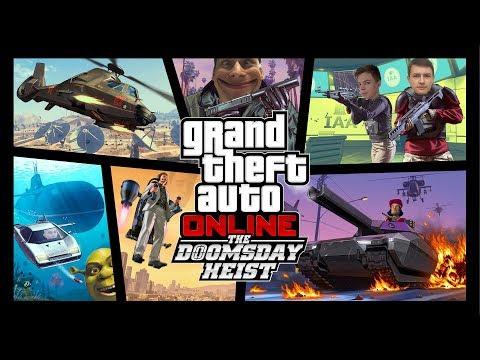 BEVÁSÁROLUNK! GTA 5 ÚJ DLC/HEIST!!!! - BENIIPOWA