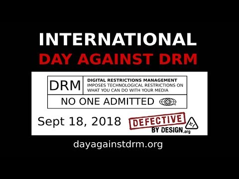 Take a stand against DRM!!!
