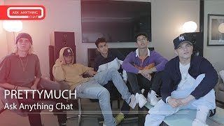 PRETTYMUCH Pronounce Their Full Names & Why They Pick Miley Cyrus.  Part 1