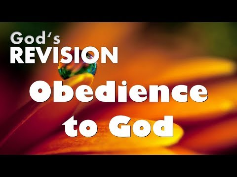 THE IMPORTANCE OF OBEDIENCE TO GOD ... OUT OF LOVE ❤️ Summary of Statements from the Lord