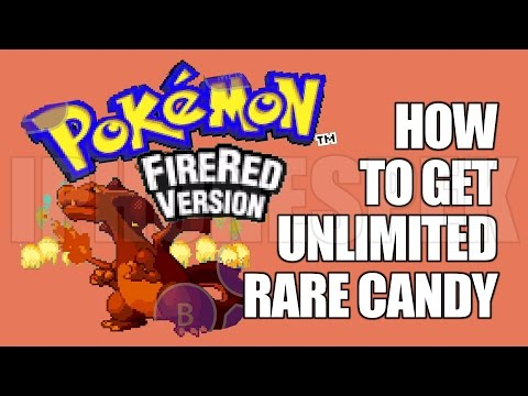 How to get Unlimited Rare Candy Pokemon Fire Red GBA4IOS iOS 11 10 9 iPhone iPad