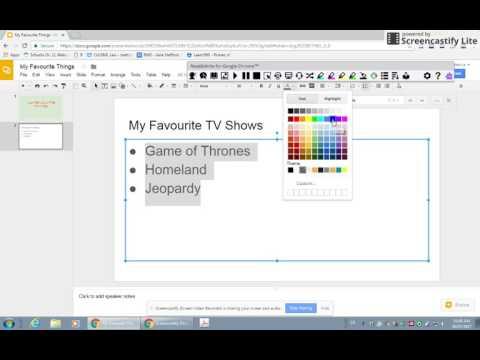 Lesson 1 -Basics of Google Slides