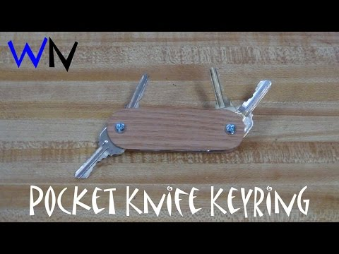 Making the Pocket Knife Keyring!