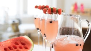 Celebrate Fourth Of July With My Strawberry Rose Punch Recipe