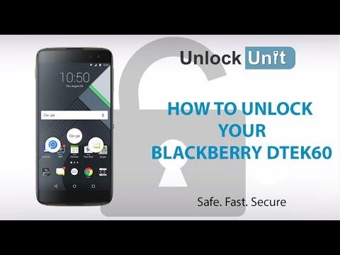 HOW TO UNLOCK BlackBerry DTEK60