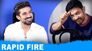 """I Am Envious Of Aamir Khan's Filmography"": Saqib Saleem | Rapid Fire | SRK | Salman Khan"