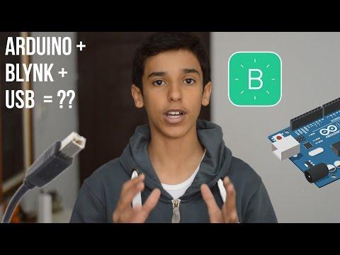 How to control arduino (Wirelessly) with blynk via USB (WiFi)
