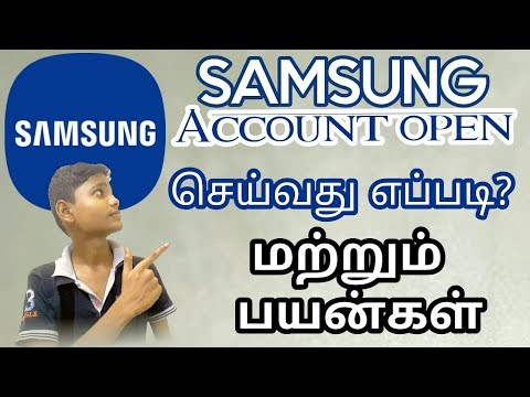 How to creat SAMSUNG account and it's work