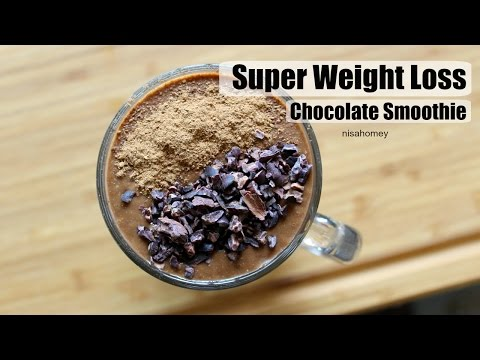 Super Weight Loss Chocolate Smoothie/Shake - Lose Weight Fast With Chocolate - No Diet No Exercise
