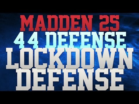 MADDEN 25 DEFENSE - 2 RUSHERS FREE!!! - ROIDED OUT PASS RUSH!!! - GLITCHY COVERAGE!!! - LOCKUP!!