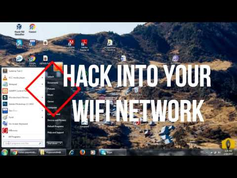 Hack into your own network router and change  username password and other configuration like MAC