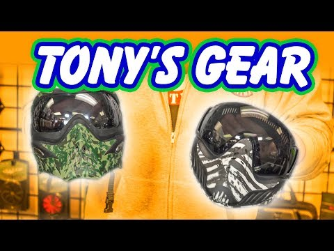 What's in Your Bag? Tony's Gear | Product Review | Lone Wolf Paintball Michigan