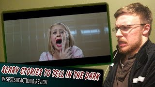 SCARY STORIES TO TELL IN THE DARK Super Bowl LIII TV Spots - Reaction & Review