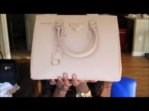 Prada Saffiano Lux Small Double-Zip Tote Bag Replica (Review)