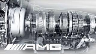 AMG 5.5-liter V8 Biturbo Engine