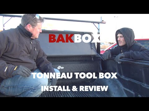 Bak Industries BAKBox Tonneau Tool Box Install & Review