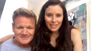 Gordon Ramsay's Wife Says the Famous Chef Forgets to Wash His Own Dishes