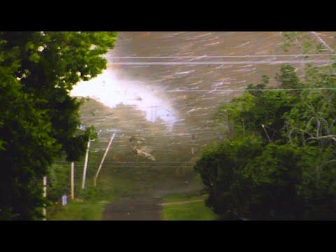 INCREDIBLE close range footage 5/9/2016 OK - Multiple Tornadoes