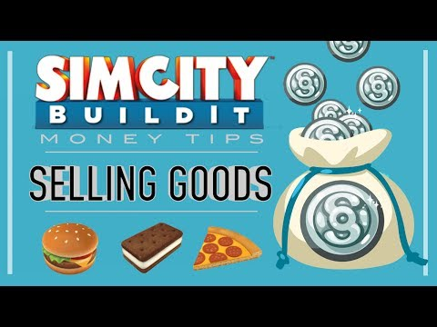 SimCity BuildIt Tips & Tricks: How to Sell Goods!
